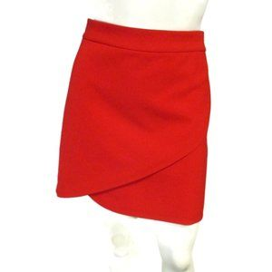 Alice + Olivia Red Above Knee Skirt 10 Fits 8